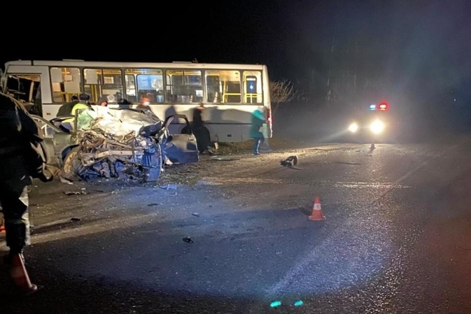Пять пострадали, один погиб: в Кузбассе произошло два ДТП с участием автобусов. Фото: ГИБДД Кузбасса