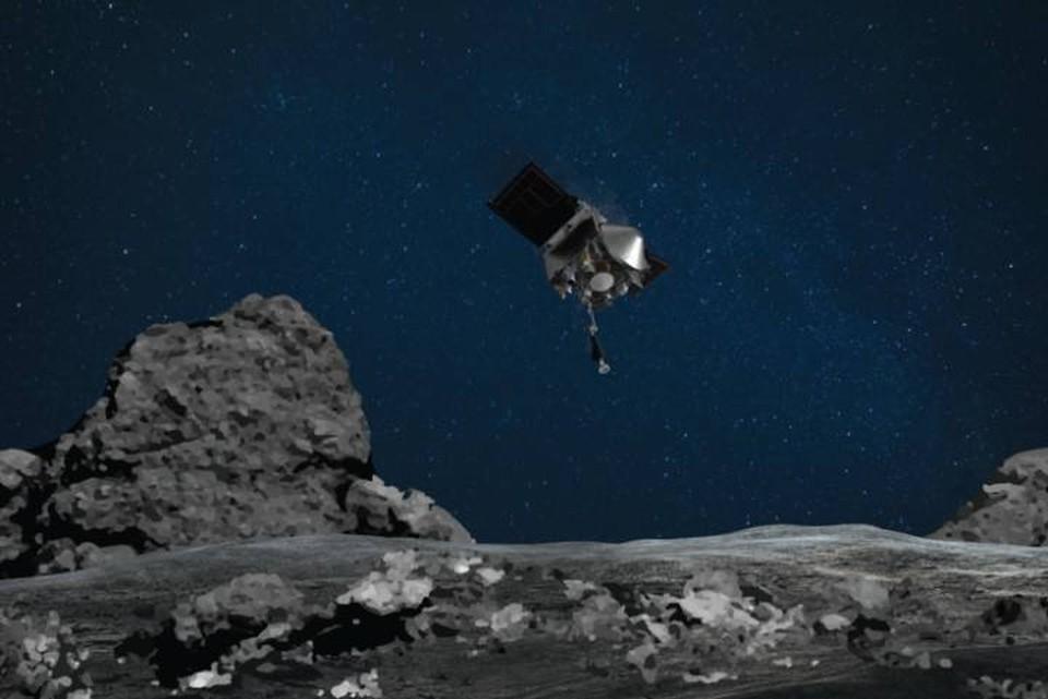 У астероида Бенну разворачиваются небывалые события