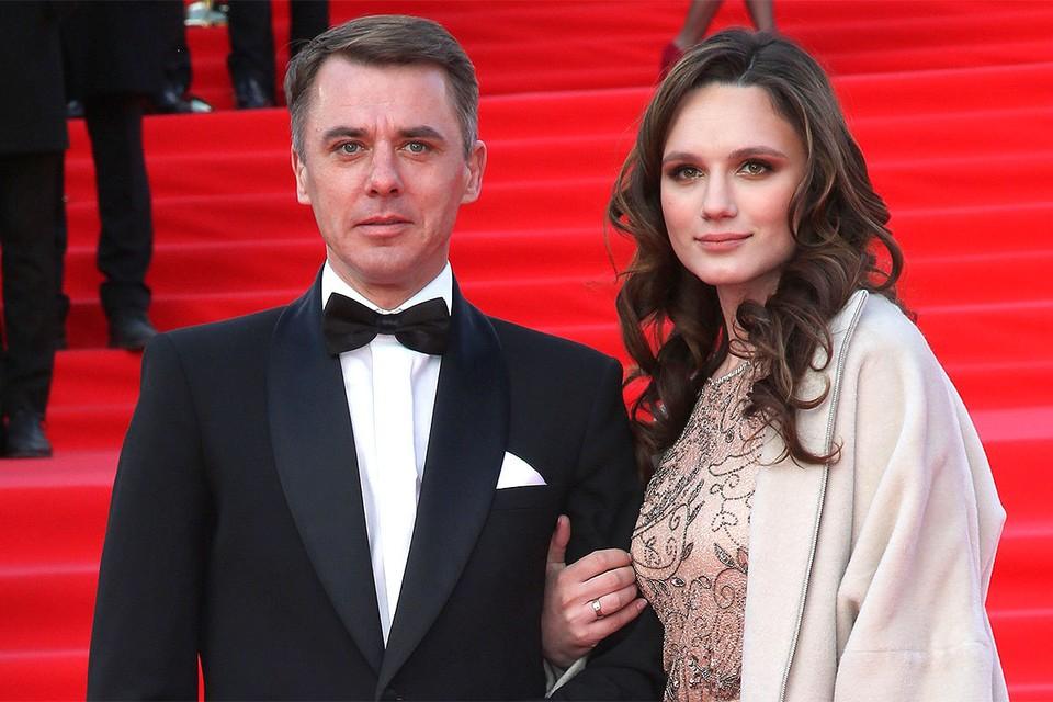Игорь Петренко с супругой Кристиной Бродской.