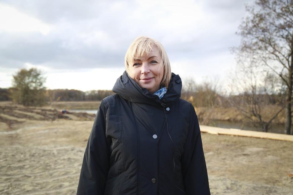 Заместитель руководителя Федерального агентства водных ресурсов Наталья Сологуб