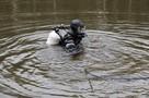Тульская водолазная группа провела тренировочный спуск под воду
