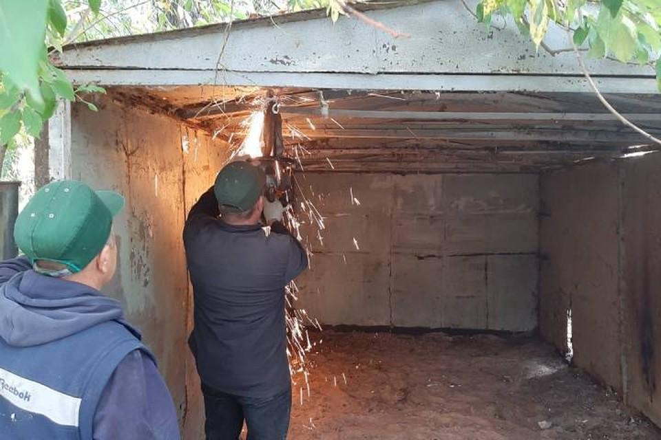 Кучу долларов нашли во время демонтажа заброшенного гаража в Петербурге / Фото: ККИ