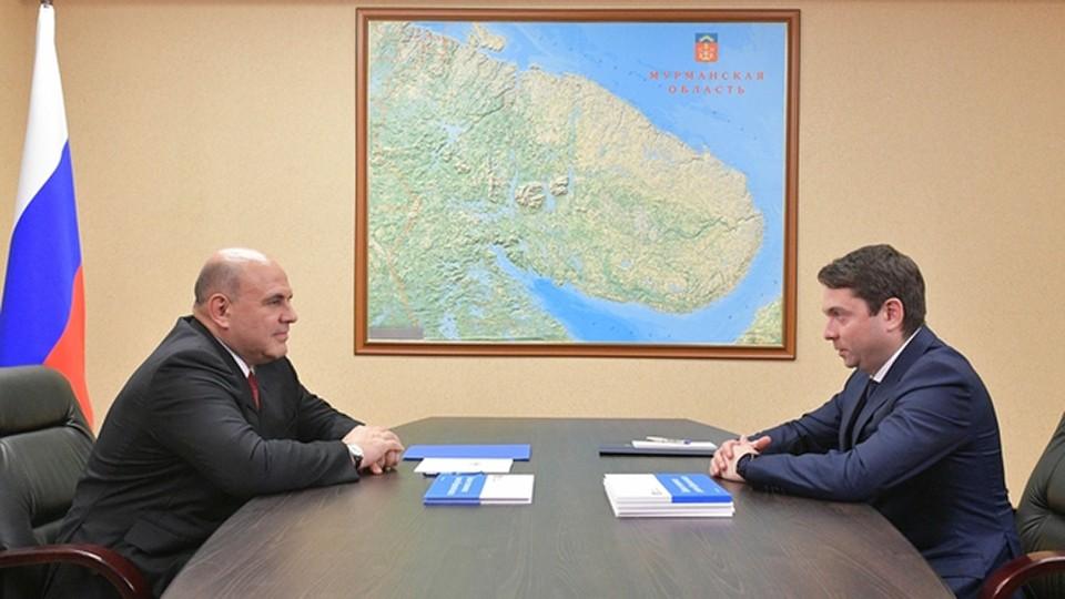 Андрей Чибис коротко рассказал о территории опережающего развития «Столица Арктики». Фото: premier.gov.ru/