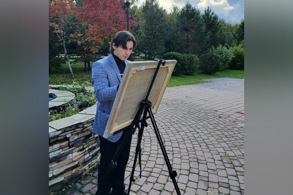 Врач из Кемерова нарисовал последний рисунок из серии про «красную зону». ФОТО: из личного архива героя публикации