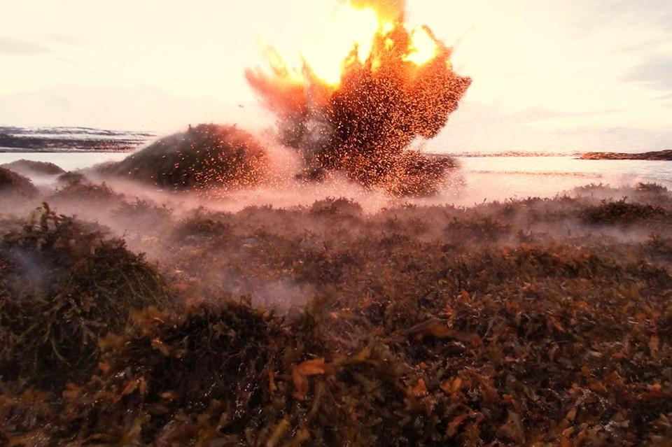 На днях саперы морской пехоты Северного флота уничтожили немецкие снаряды и торпеду времен Великой Отечественной войны. Фото: пресс-служба Северного флота.