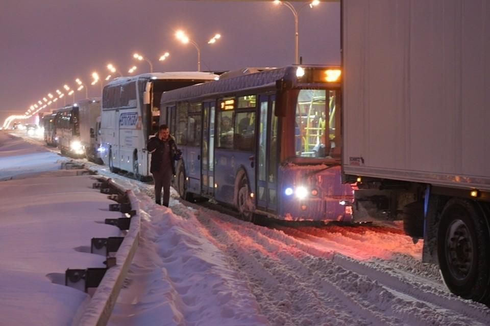 ГИБДД Кузбасса снова прогнозирует транспортный коллапс