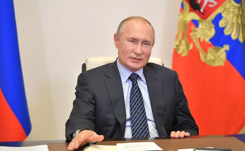 Путин подчеркнул, что таяние вечной мерзлоты стимулирует выброс в атмосферу метана.