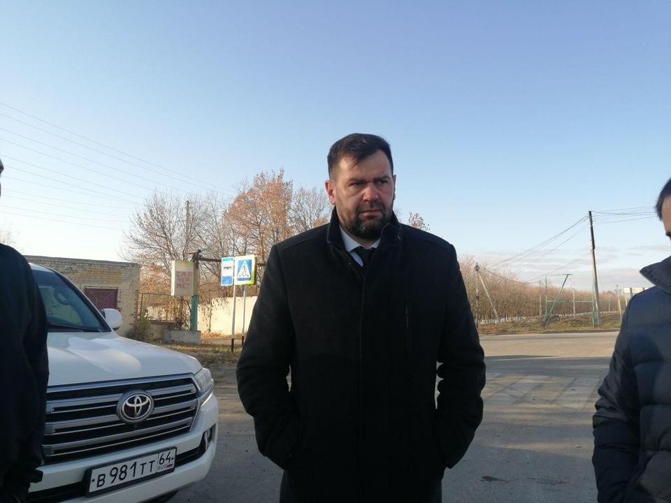 Министр транспорта и дорожного хозяйства Саратовской области Алексей Петаев