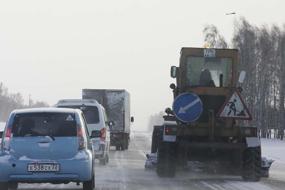 Непогода на Алтае.