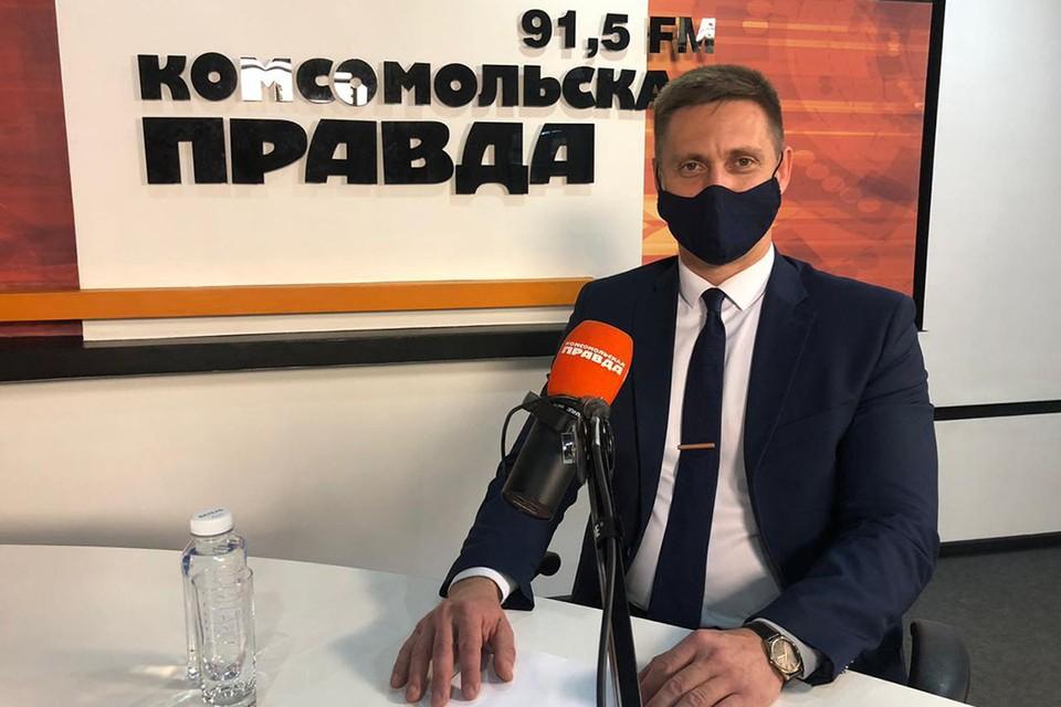 Дмитрий Матвеев, ответственный секретарь центральной приёмной комиссии ИГУ