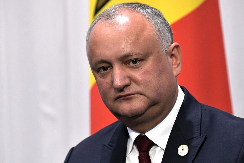Действующий президент Молдавии Игорь Додон