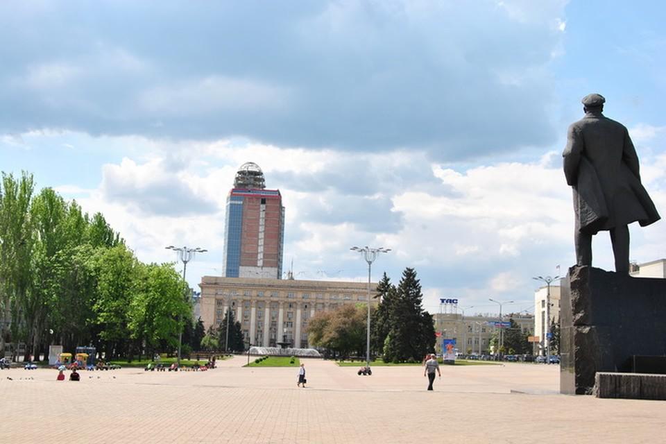 В Донецке будет пасмурно и местами дождливо