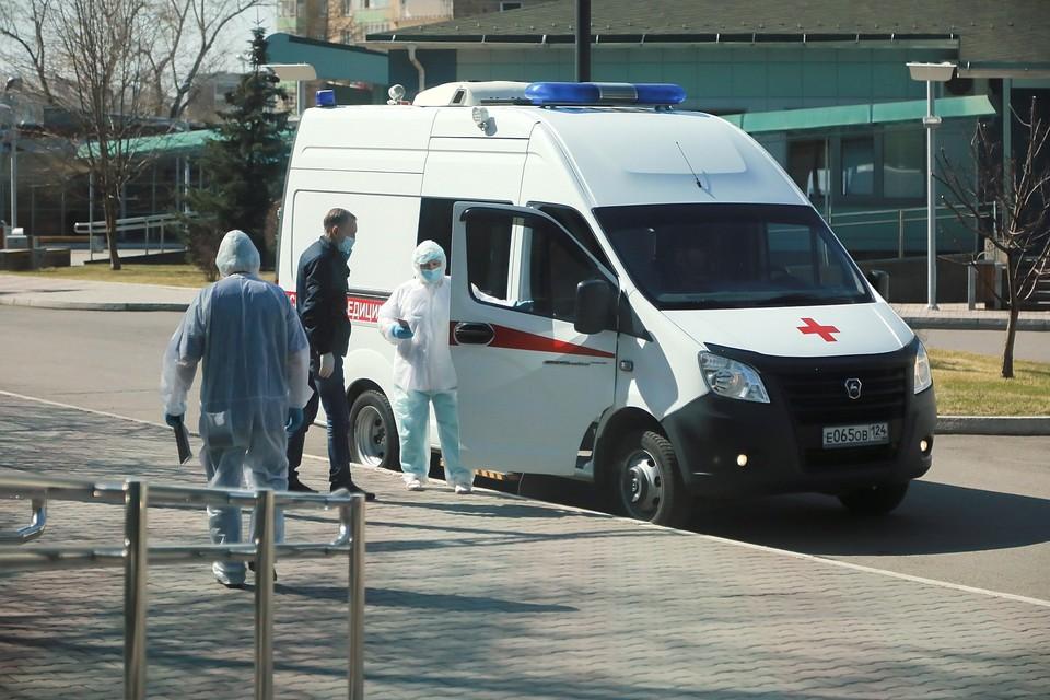 Скорая помощь в Красноярске работает с большой нагрузкой