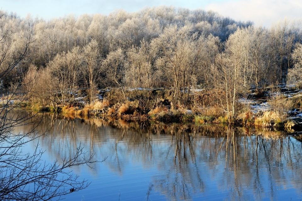 В Мурманской области пока мягкая осень.