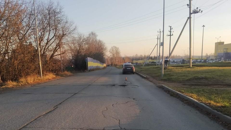 Молодой водитель сбил перебегающего дорогу подростка в Ижевске