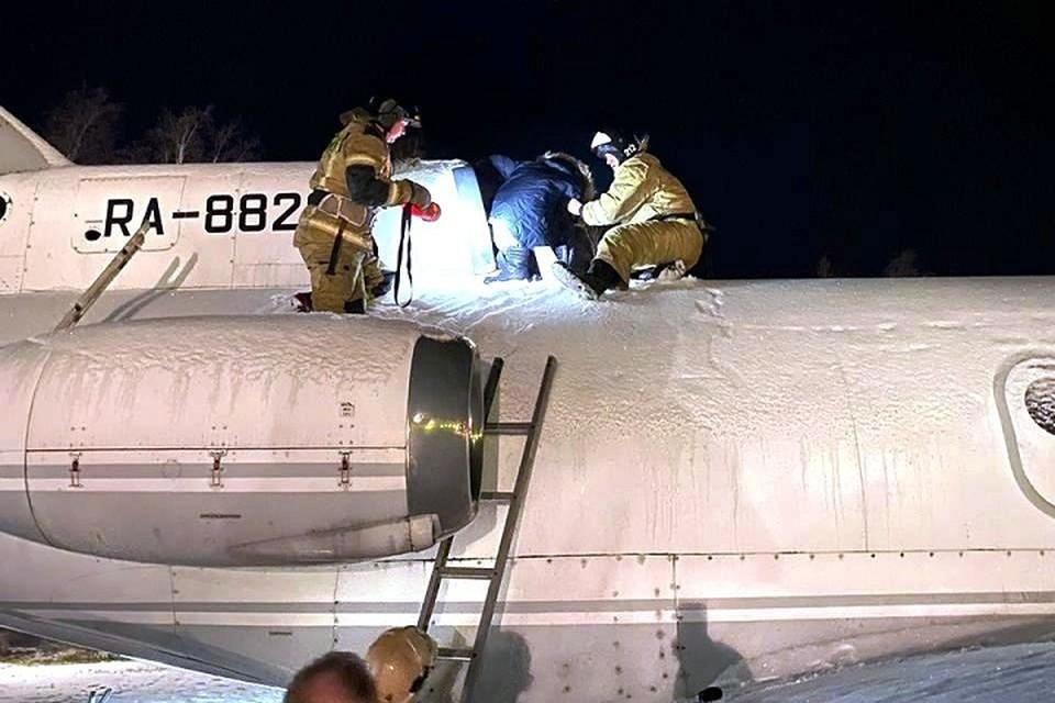 На спасательную операцию ушло 10 минут. Фото: ГУ МЧС по ХМАО-Югре