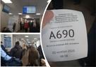Челябинка взяла талон в поликлинику под № 690. И это только в регистратуру