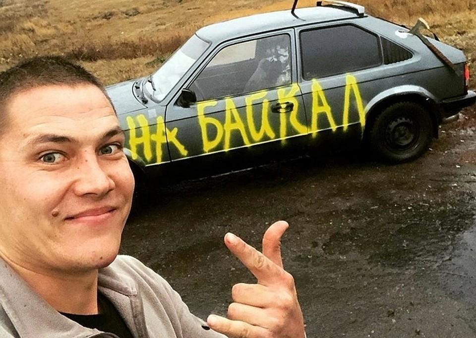 Ростовский каскадер совершает экстремальную поездку. Фото: соц. сети Евгений Чеботарев