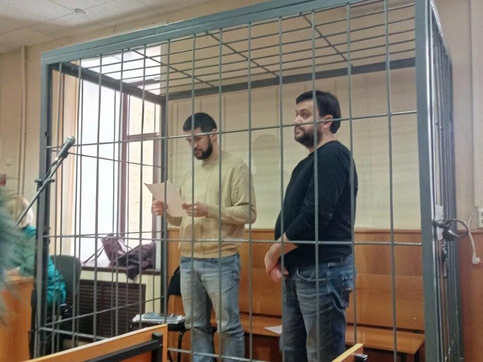Реналь Мязитов (на фото слева) и Евгений Вагнер в суде отрицали вину