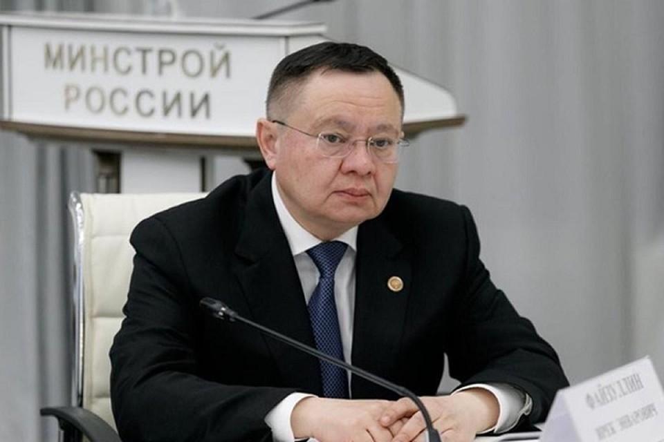 Ранее Файзуллин уже возглавлял подобное ведомство, но только в Татарстане. Фото: пресс-служба Министерства строительства и жилищно-коммунального хозяйства России