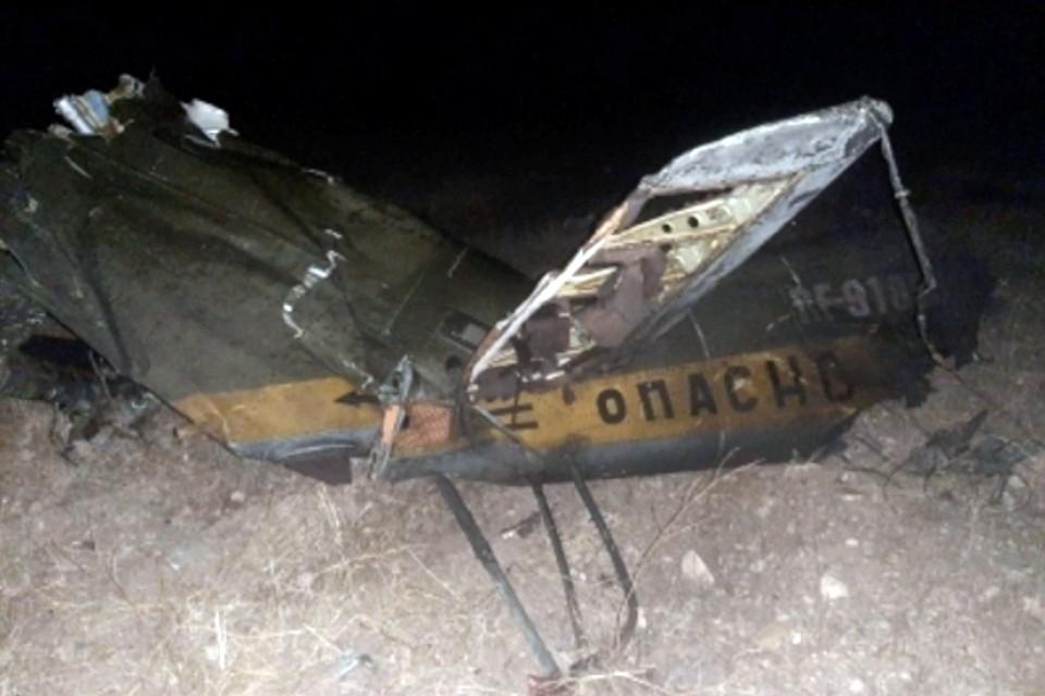 Российский вертолет Ми-24 был сбит в воздушном пространстве над территорией Республики Армения вне зоны боевых действий