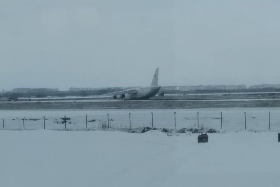В аэропорту сейчас работает комиссия. Фото: Александр ЧИРКОВ.