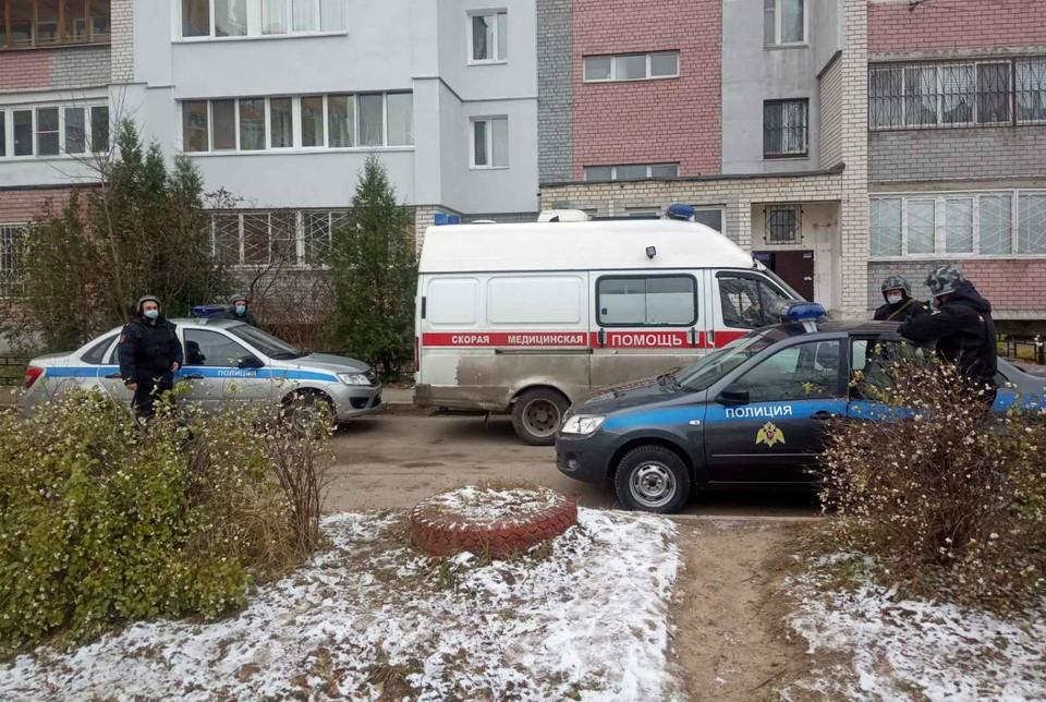 В Нижнем Новгороде мужчина обстрелял экипаж скорой помощи. ФОТО: Управление Росгвардии по Нижегородской области.