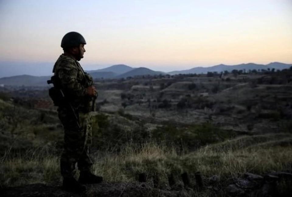 В Карабахе продавщица в магазине отказалась брать деньги с российского миротворца