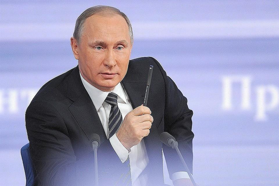 Путин пошутил о своем кресле на совещании с военными