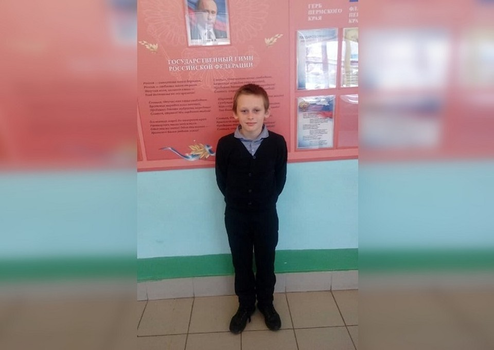 11-летний Вячеслав Ширинкин спас двух сестер, провалившихся в воду. Фото: семейный архив.
