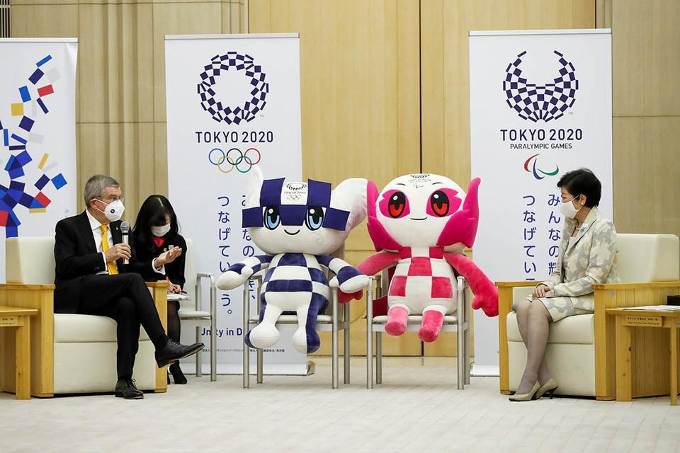 Томас Бах посетил Японию, где в 2021 года все же должны состояться летние Олимпийские игры