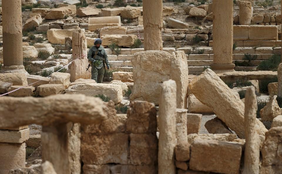 Весной 2017 года Пальмира была освобождена от захватчиков.