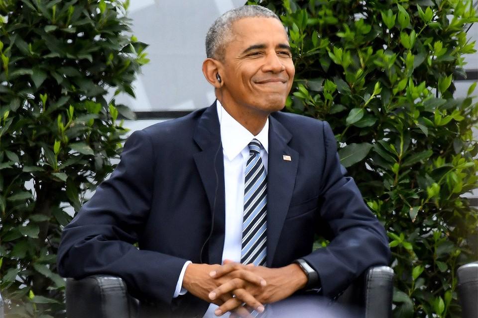 Экс-президент США Барак Обама.