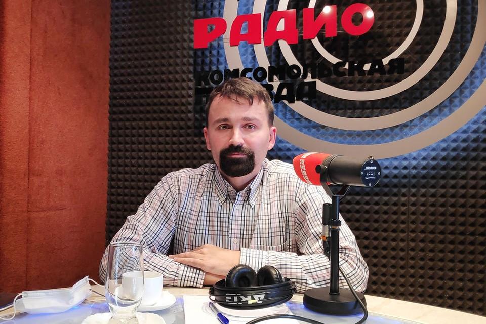 О своей инициативе Антон Бурмистров рассказал в эфире Радио «Комсомольская правда».
