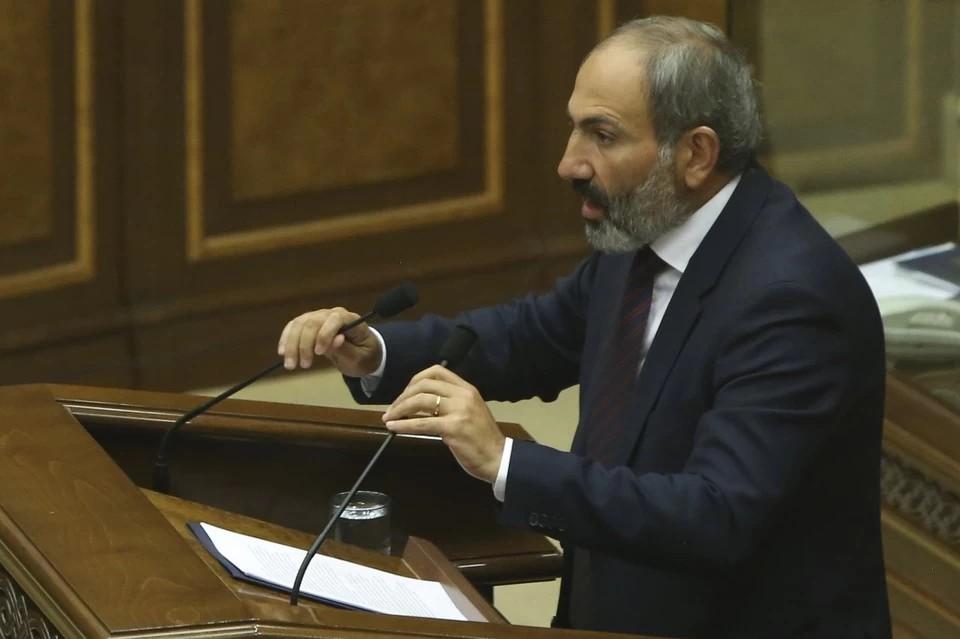 Пашинян представил план работы правительства Армении после событий в Карабахе