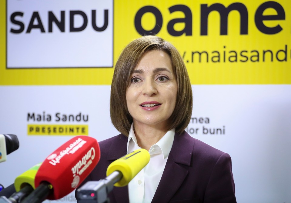 Избранный 15 ноября 2020 года президент Молдавии Майя Санду