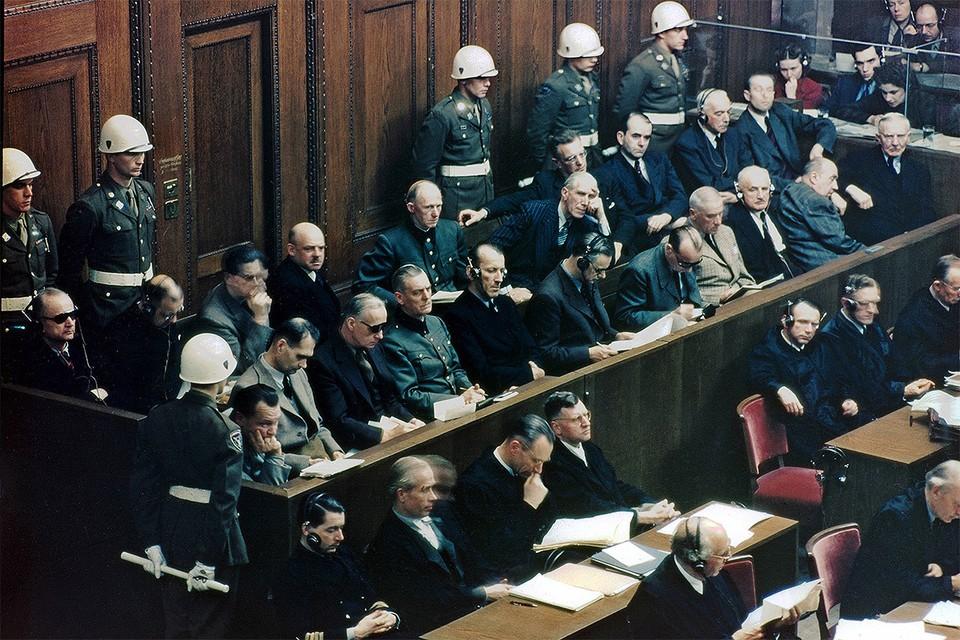 Суд над руководителями Гитлеровской Германии начался 20 ноября 1945 г.