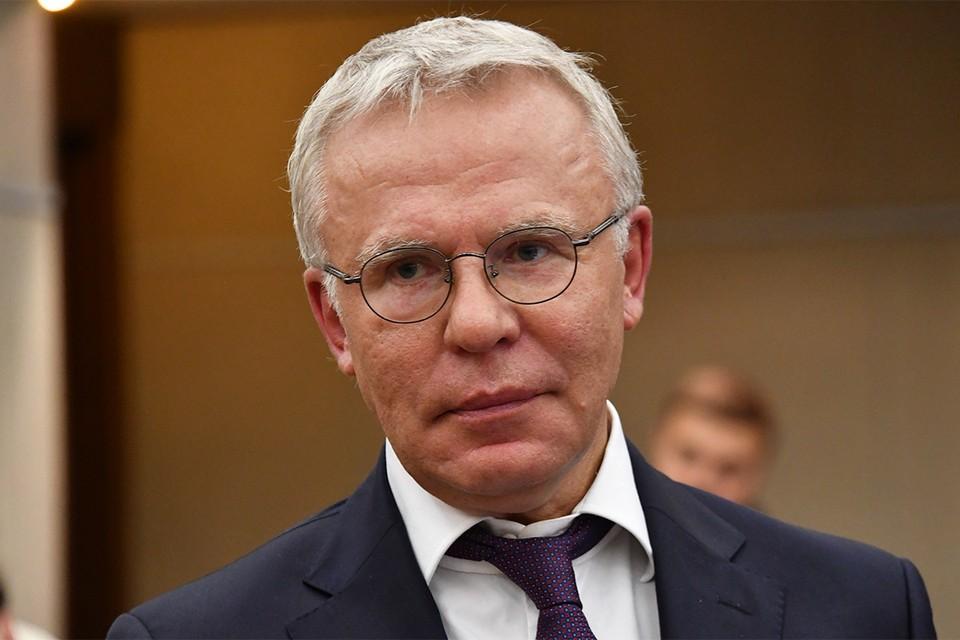 Легенда хоккея, депутат Госдумы РФ Вячеслав Фетисов.