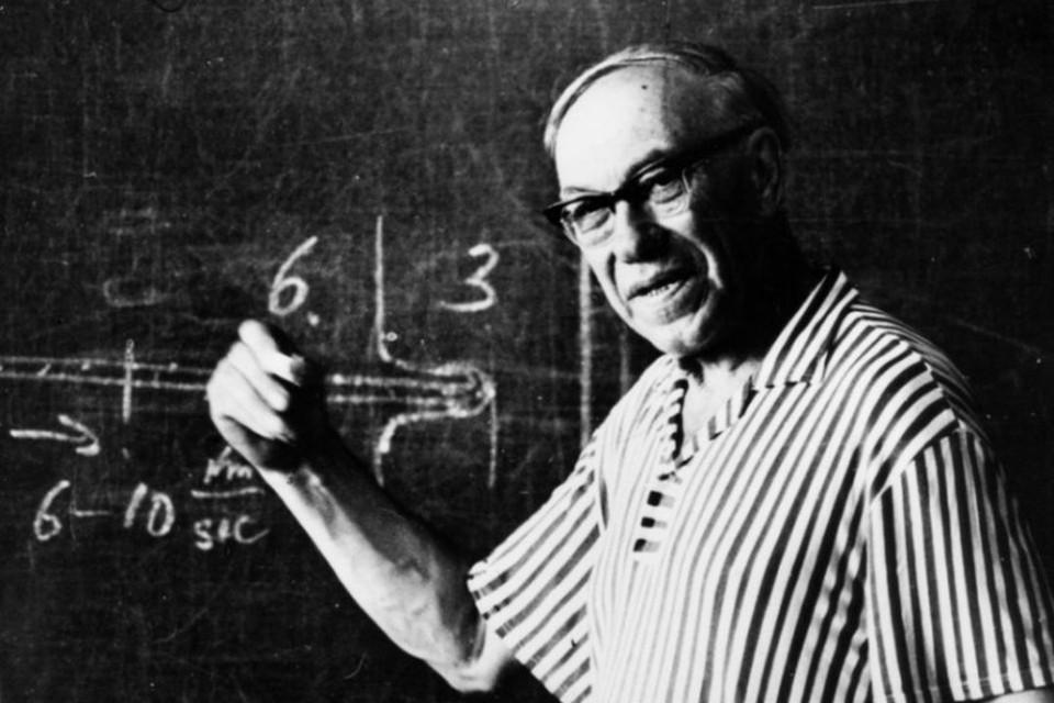 Михаил Лаврентьев был талантливым математиком. Фото: предоставлено Музеем города Новосибирска.