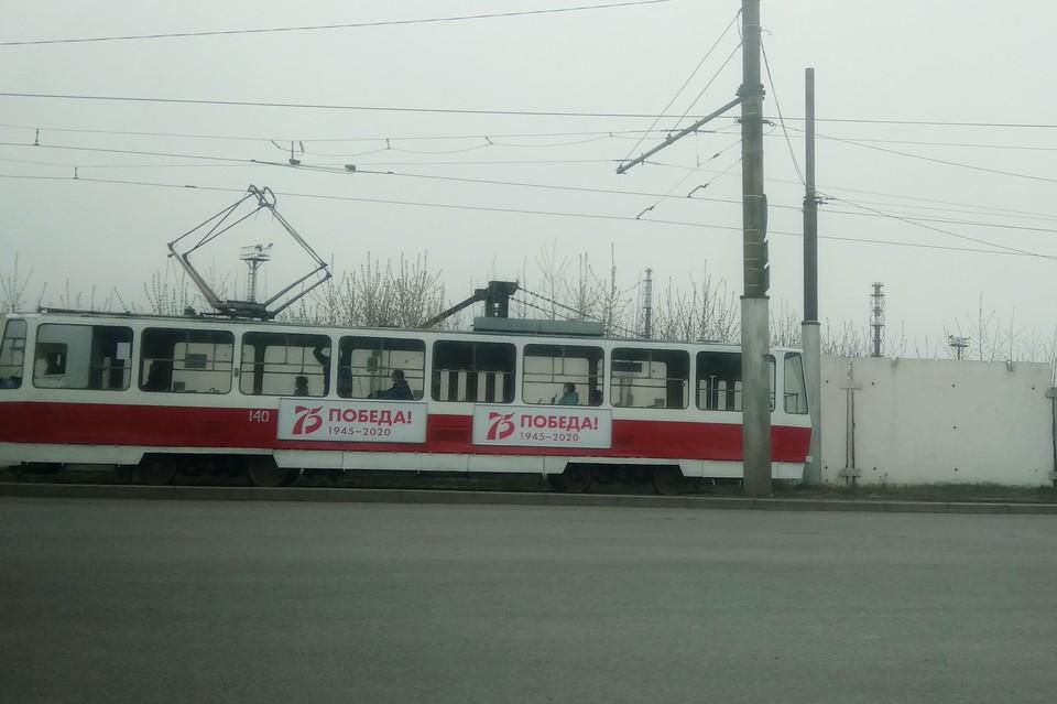 В Липецке на время изменили маршрут трамваев