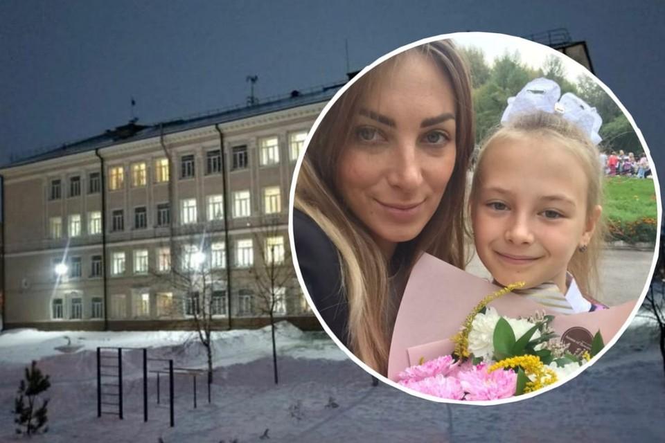 Ольга переживает за дочку и не пустила ее в школу. Фото: предоставлено Ольгой ЕПАНЕШНИКОВОЙ.