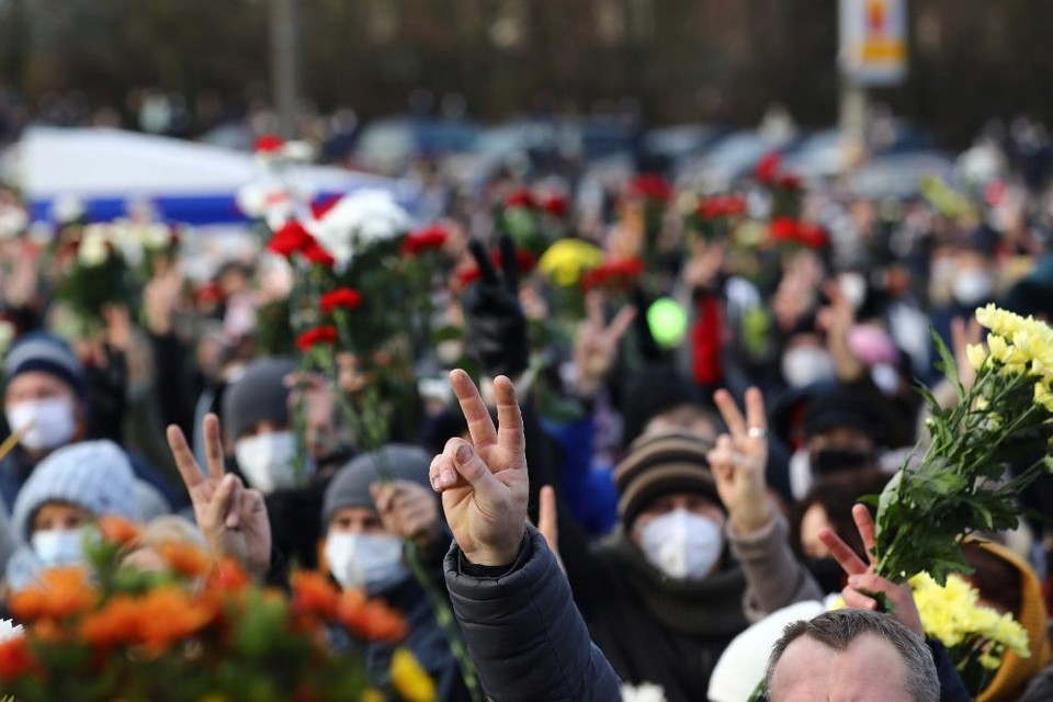 Мы собрали последние новости о протестах в Белоруссии на 21 ноября 2020 года