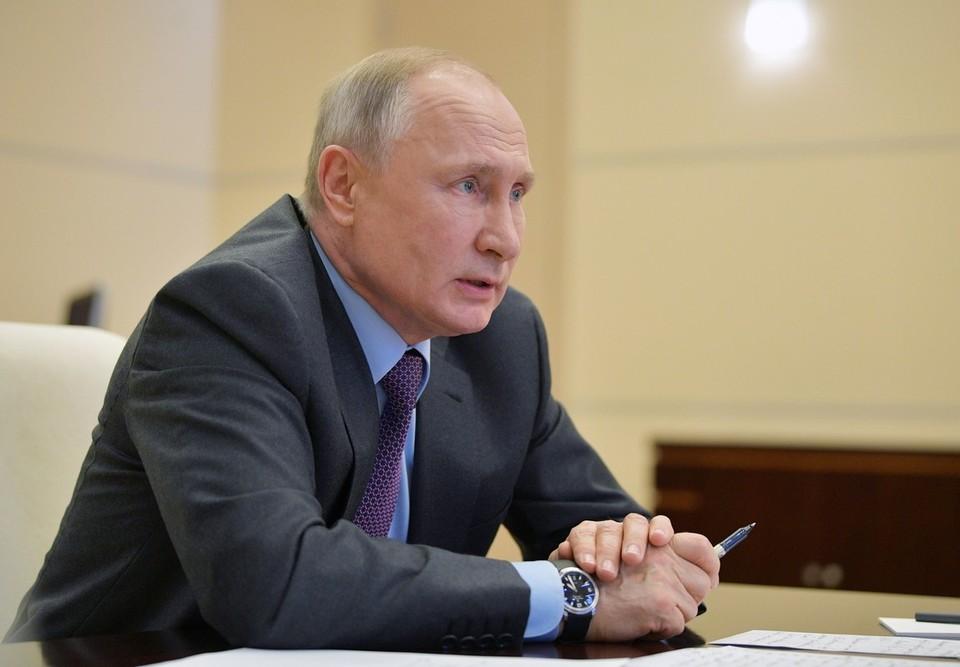 Путин назвал массовую безработицу и рост бедности главным риском для мира