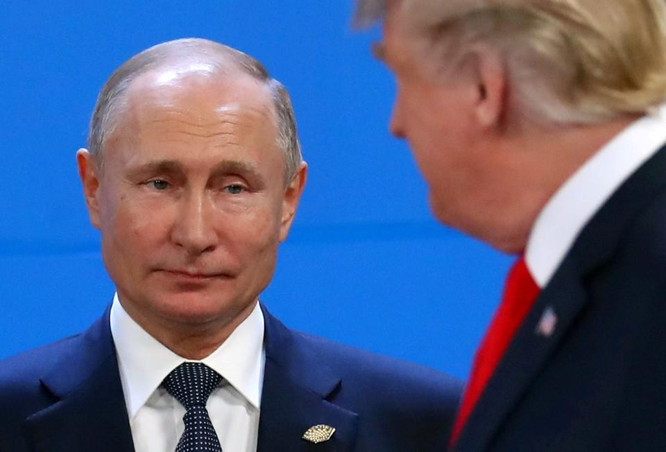 Путин попрощался со своим американским коллегой.