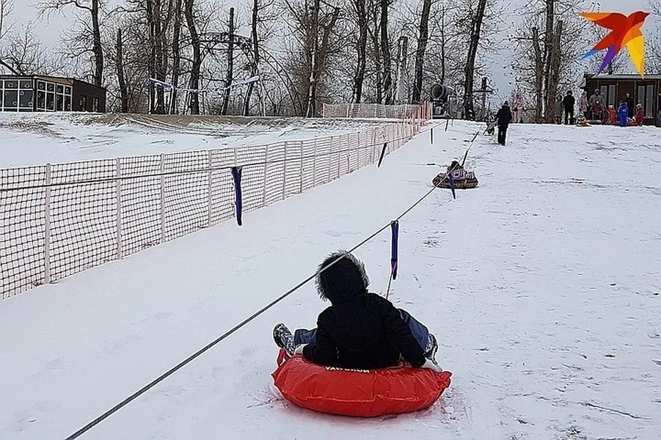 Под Волгоградом открылся лыжный склон Бобры