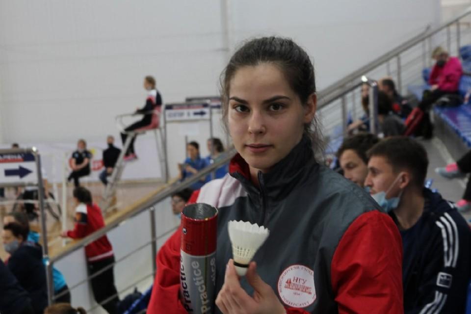 За пять лет тренировок Анна попала в Сборную России по парабадминтону. Фото: личный архив