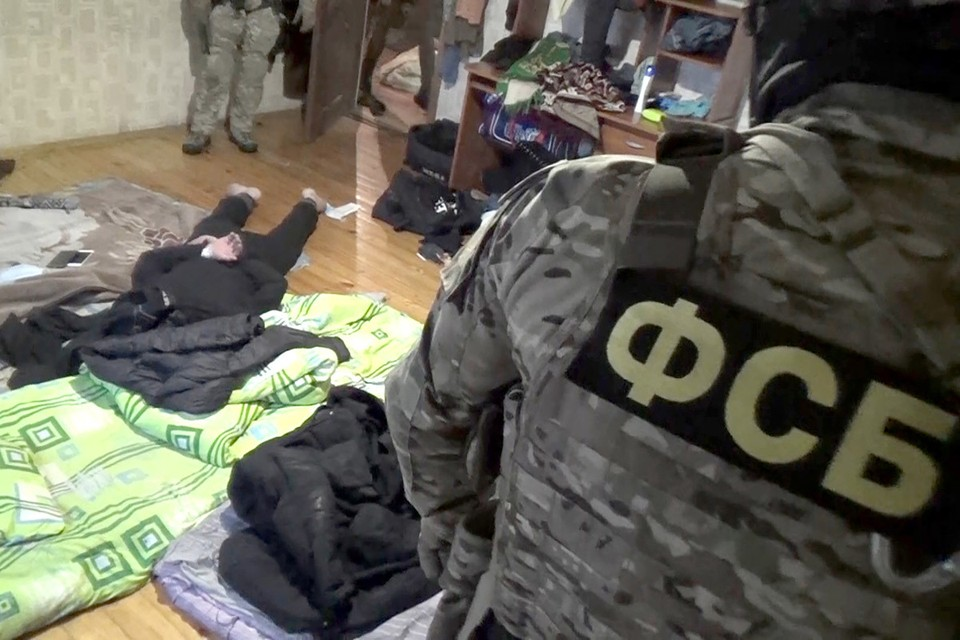 Задержание подозреваемых в терроризме.