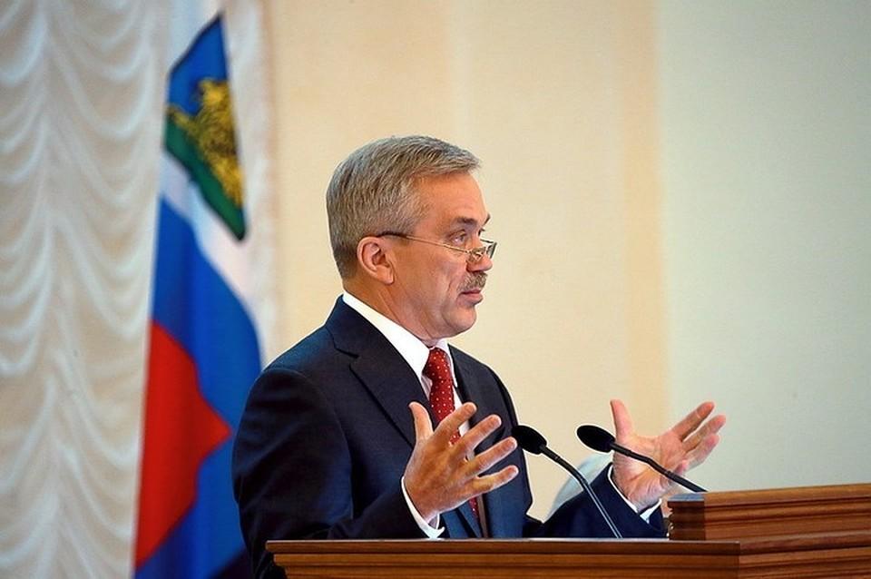 Белгородский экс-губернатор возглавил представительство РАН области.