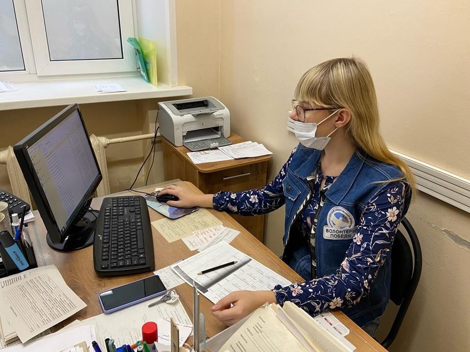 Ежедневно на помощь сотрудникам учреждений здравоохранения выходит до 50 добровольцев. Фото: НРО ВОД «Волонтеры Победы»