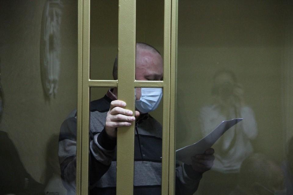 В своем последнем слове подозреваемого попросил суд его оправдать. Фото: Южный окружной военный суд.